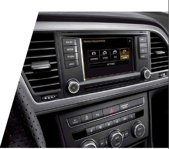 SEAT Leon experience 3 aragon car zaragoza