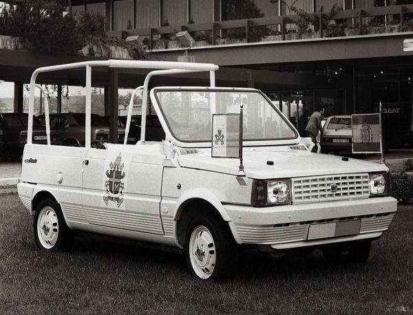 Seat panda papamovil seat aragon car zaragoza