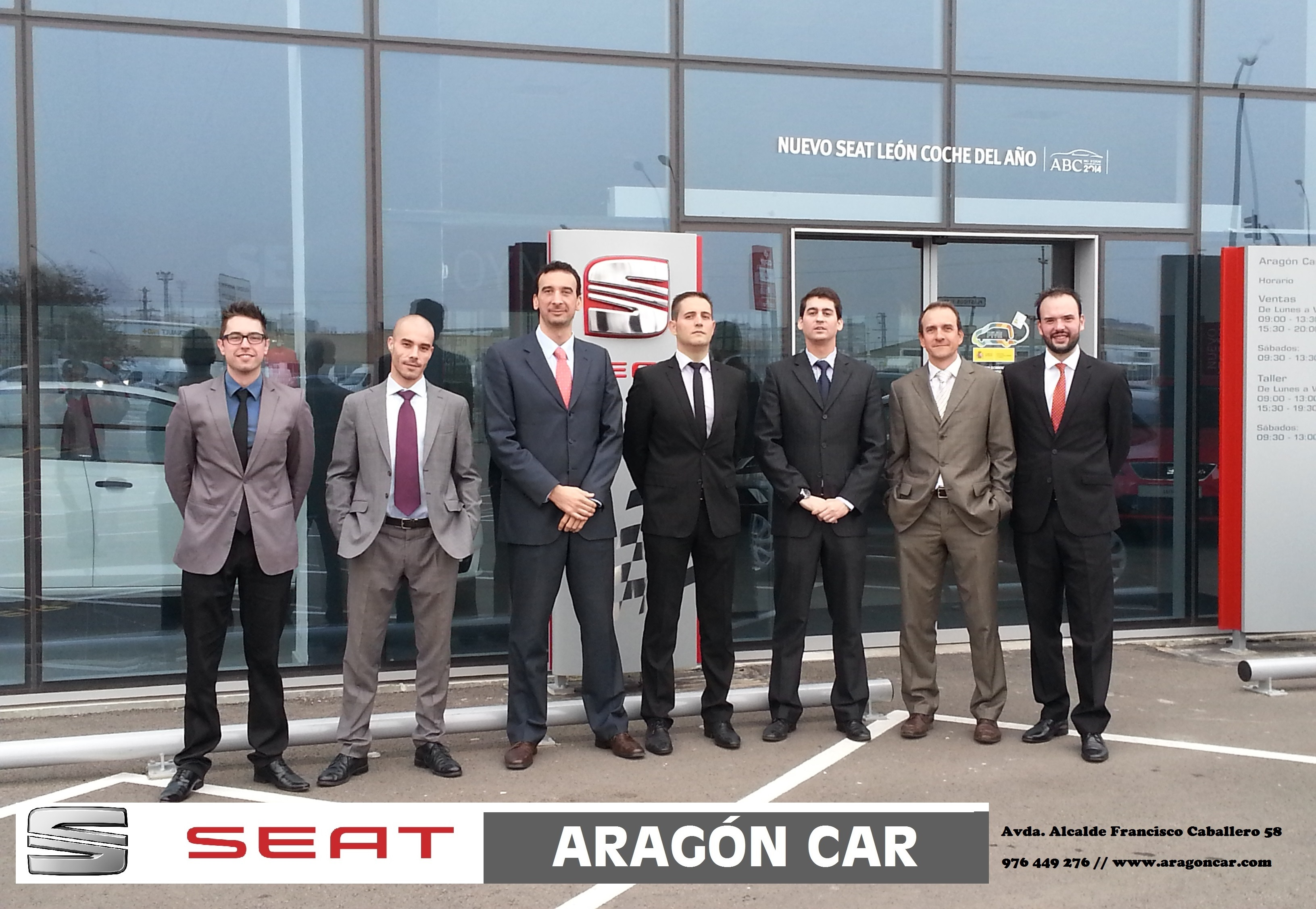 comercial aragon car zaragoza final