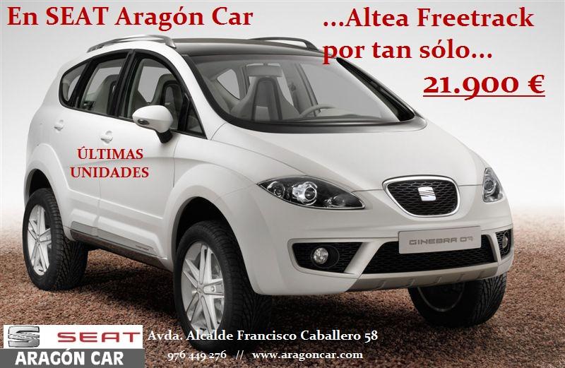 seat altea freetrack aragon car zaragoza oferta barato descuento km0 km 0 ocasion