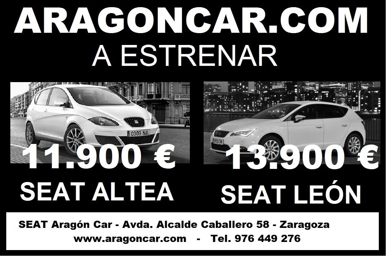 seat aragon car zaragoza barato oferta descuento km0 km 0 ocasion