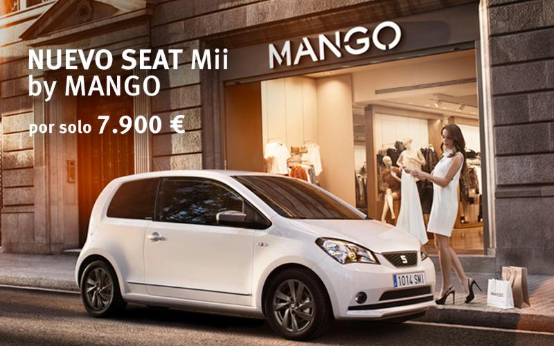 MII BY MANGO. PORQUE EL DISEÑO IMPORTA!! LLEVATELO EN SEAT ATAGON CAR POR SOLO 7900 EUROS