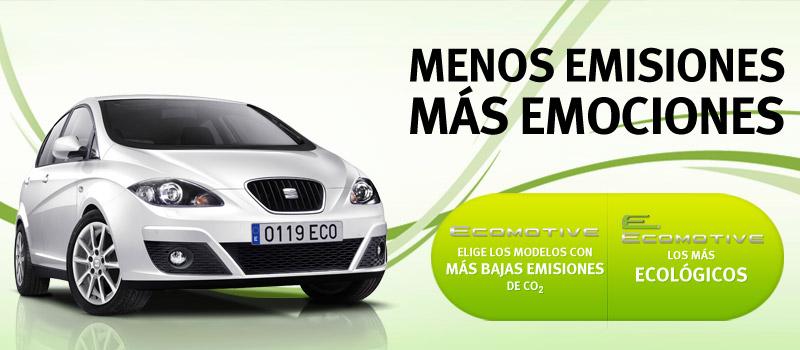 SEAT SIEMPRE CUIDANDO EL MEDIO AMBIENTE!!! Seat, marca que más coches de menos de 120 gramos de CO2 vendió en España en 2014