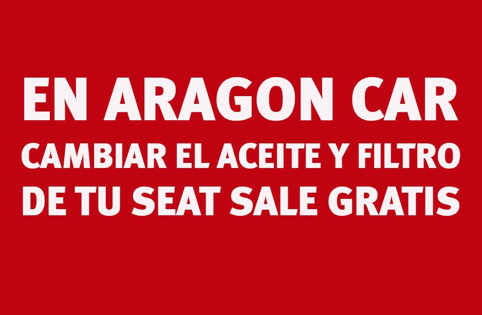 Cambio Aceite esn Seat Aragón Car