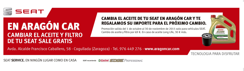 anuncio cambio aceite SEAT